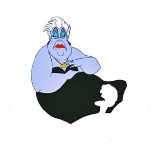 Walt 迪士尼 Production Cels - Ursula