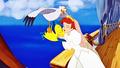 Walt Disney Screencaps - Scuttle, Flounder & Princess Ariel - walt-disney-characters photo