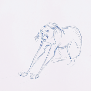 Walt Disney Sketches - Pongo