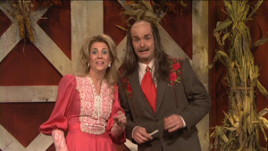Will Forte as Clancy T. Bachleratt in Saturday Night Live
