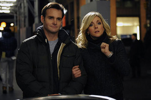 Will Forte as Paul L'Astname and Jane Krakowski as Jenna Maroney in '30 Rock'