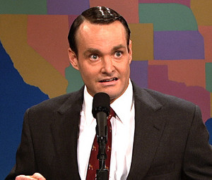 Will Forte as Tim Calhoun in Saturday Night Live