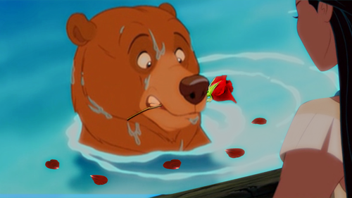 Disney crossover karatasi la kupamba ukuta called Will wewe be my Valentine, Pocahontas?