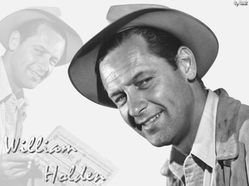 Classic Movies wallpaper probably containing a fedora and a boater entitled William Holden