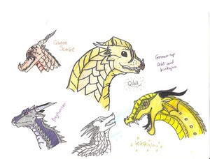 Wings of fogo Characters