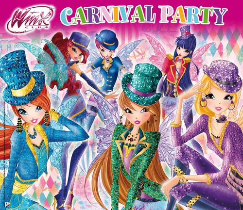 Winx Club(ウィンクス・クラブ) 壁紙 containing アニメ titled Winx Carnival Couture
