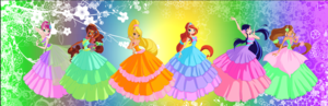 Winx Club Season 5 Harmonix Gowns