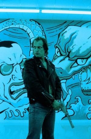 Woody Harrelson as Mickey Knox in Natural Born Killers