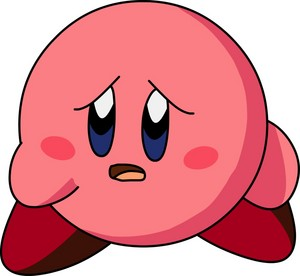 Worried kirby
