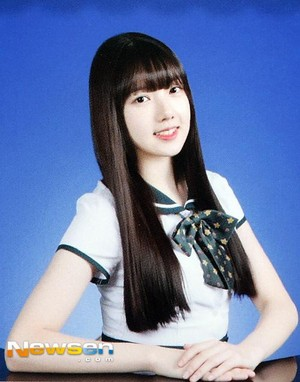 Yerin's yearbook photo!