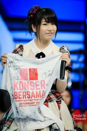 Yokoyama Yui AKB48 x JKT48 buổi hòa nhạc 2015