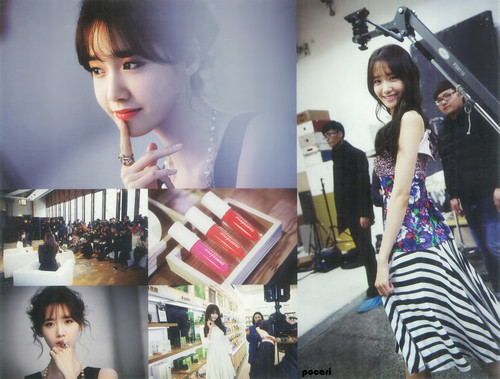 Im yoonA fond d'écran probably containing a sign entitled Yoona High Cut 2015