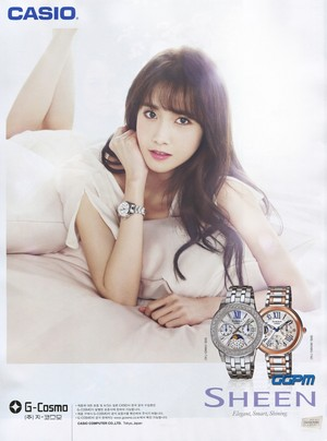 Yoona for Casio Baby-G