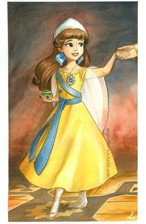 Young Công chúa Anastasia