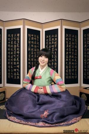 Yuju wishing us a Happy Lunar New Year!