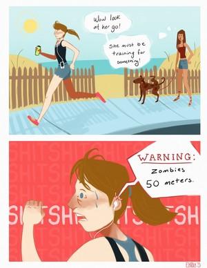 Zombie Running/Jogging App