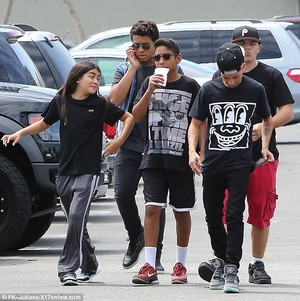blanket jackson, jermajesty, royal jackson, omer bhatti and prince jackson