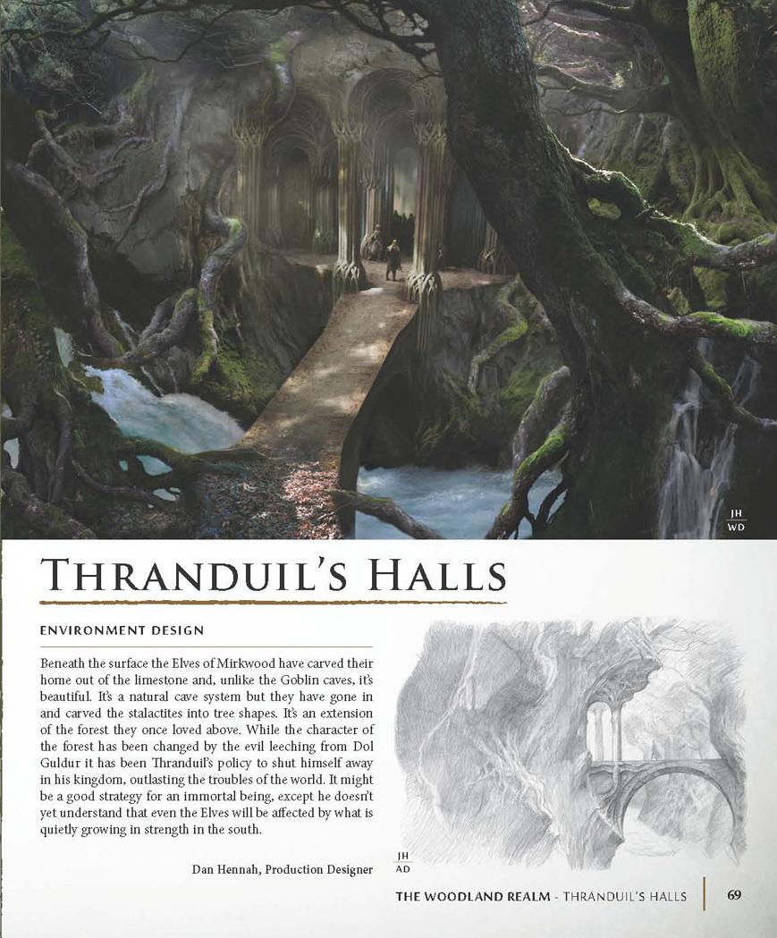 elvenking's halls concept art