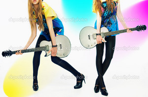guitat girl