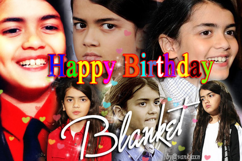 Blanket Jackson wallpaper called happy 13th birthday blanket 2015