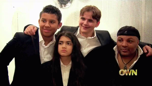 jermajesty jackson, blanket jackson, prince jackson and jeffree