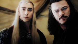king thranduil and bard