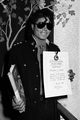 michael jackson guinness world record certificate  - michael-jackson photo