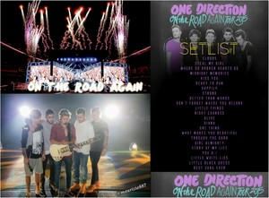on the road again tour,setlist ,2015