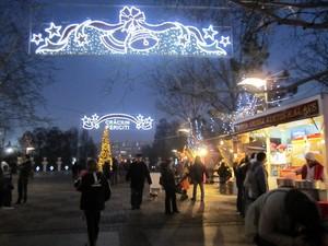 parcul Alexandru Ioan Cuza Titan IOR iarna Bucuresti Bucharest Romania