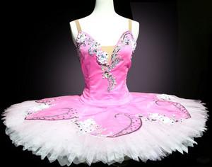 pink/ white tutu