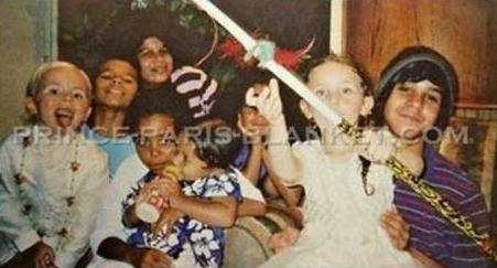 prince jackson, randy jr, jourdynn jackson, donte jackson, jermajesty jackson and paris jackson