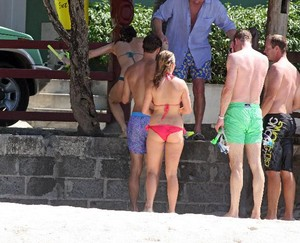 prince william Vacation In Mustique