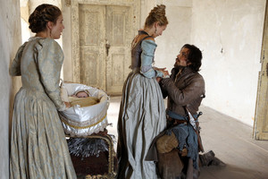 queen anne and aramis with marguerite