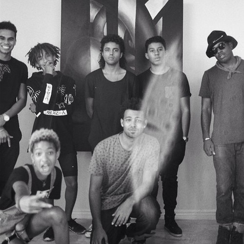 Willow Smith Hintergrund called randy jackson jr, jaden smith, willow smith, donte jackson, jermajesty jackson and 2 boys
