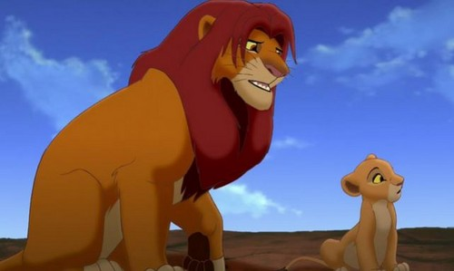 The Lion King 2:Simba's Pride wallpaper called simba and kiara