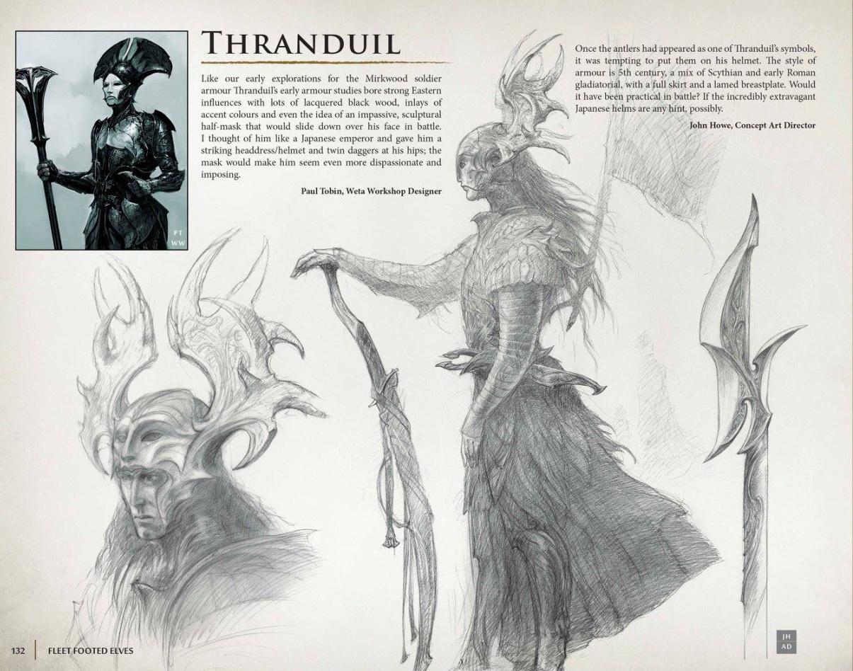 thranduil concept art