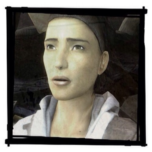 Half Life hình nền with a ti vi receiver titled Alyx Vance