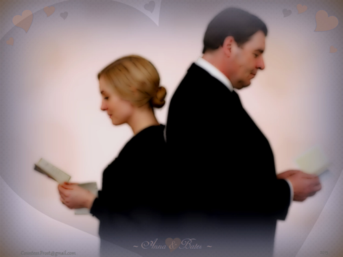 Downton Abbey wallpaper called ~ Anna & Bates ~
