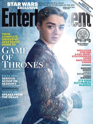 Arya Stark -EW Cover