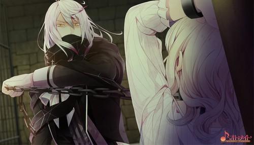 Diabolik Kekasih kertas dinding entitled [Dark Fate] Carla and Yui
