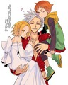 *Elaine/Ban/King (Happy Family)*