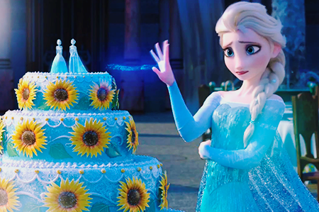 Elsa the Snow クイーン 壁紙 with a bouquet entitled アナと雪の女王 Fever