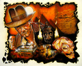 """Indiana Jones: Fortune and Glory"" - indiana-jones fan art"