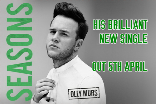 Olly Murs वॉलपेपर probably containing a sign titled Seasons