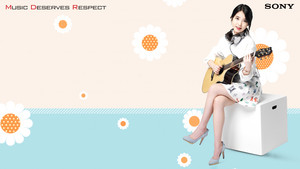 150302 iu for Sony Korea official spring wallpapers