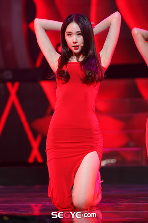 150305 Nine Muses - Erin Coming of Age (M! Countdown Special Stage)