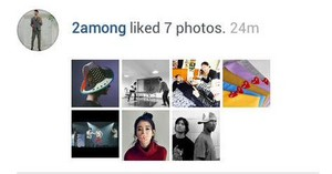 150312 2AM's Seulong liked IU's foto from Freevjfreevj's instagram