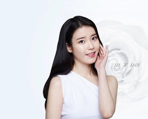 150312 ‪‎IU‬ for 아이소이 ‪isoi‬ official achtergrond for PC and mobile devices