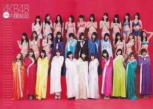 AKB48 Sousenkyo! swimwear Surprise Happyou 2013