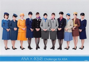 ANA × AKB48 Challenge for ASIA
